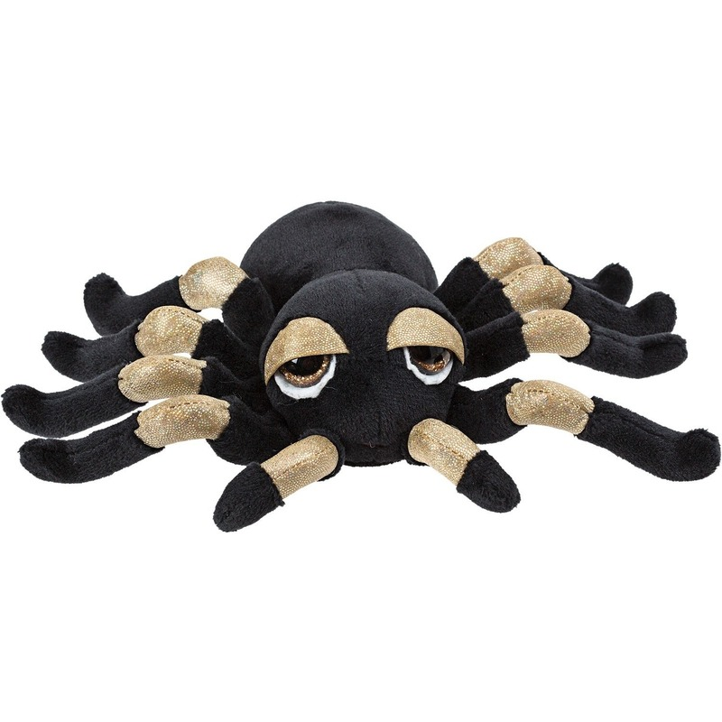 Insecten knuffels spin goud 13 cm