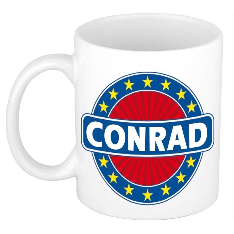 Kado mok voor Conrad