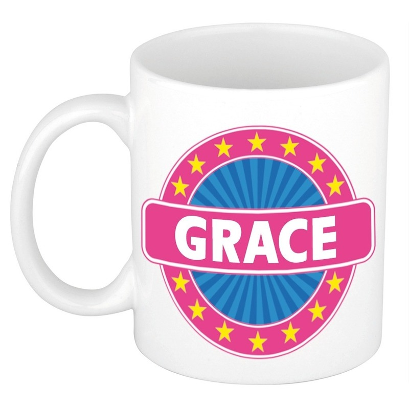 Kado mok voor Grace