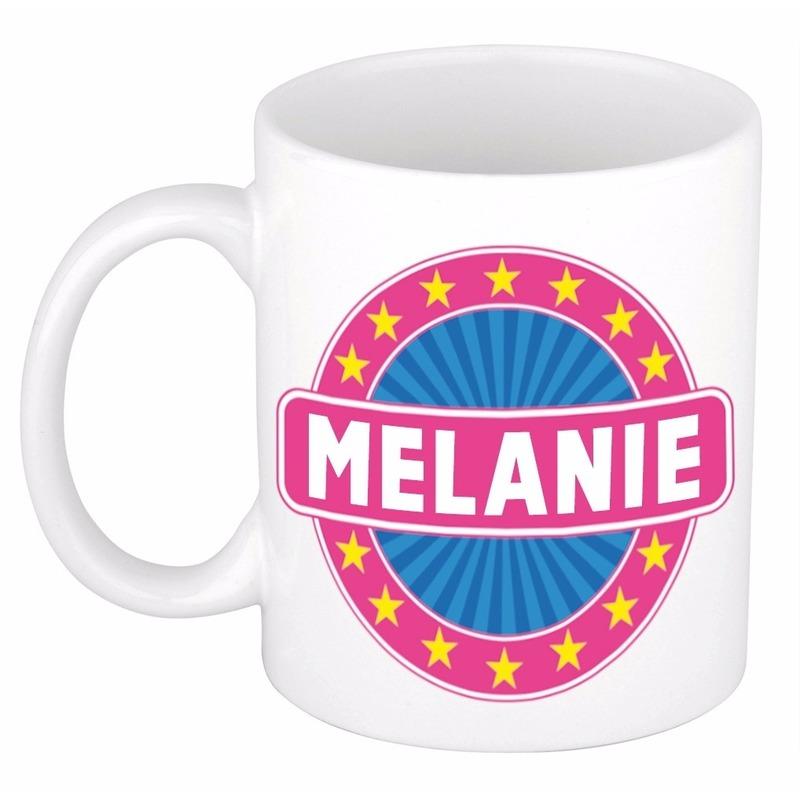 Kado mok voor Melanie