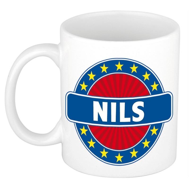 Kado mok voor Nils