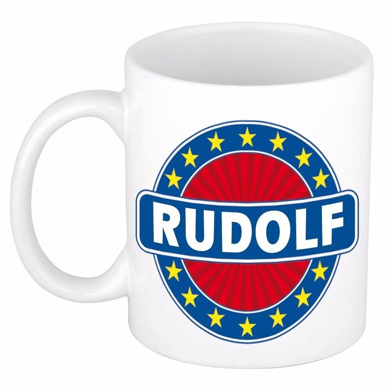 Kado mok voor Rudolf