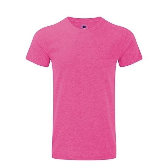 Katoennen t-shirt roze voor heren