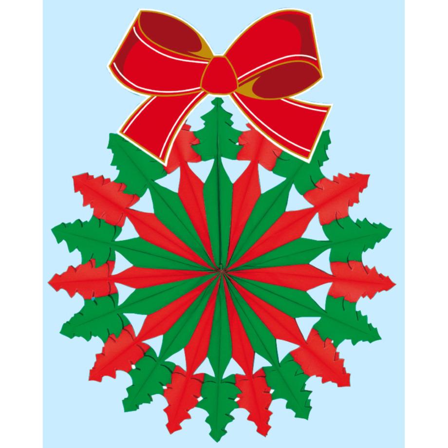 Kerstkransen decoratie brandvertragend