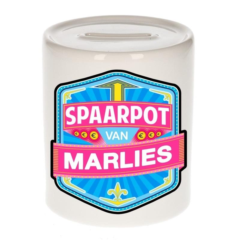 Kinder cadeau spaarpot voor een Marlies