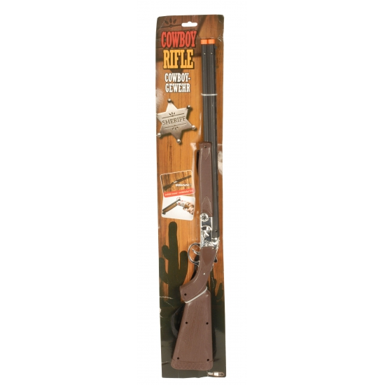 Kinderspeelgoed cowboy geweer 77 cm