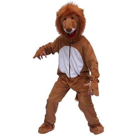 Leeuwen jumpsuit kostuum