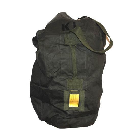 Legergroene ribstop duffel bag/plunjezak XL 90 cm