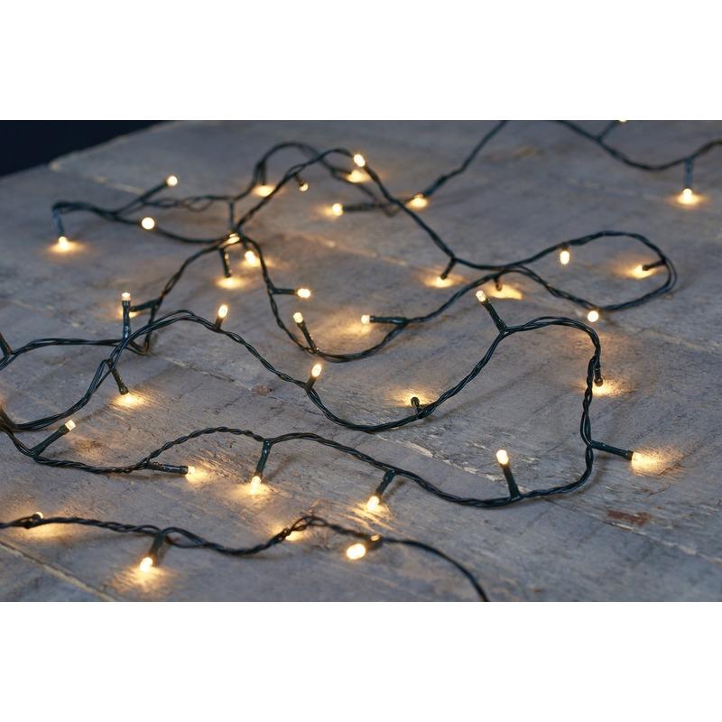 Lichtsnoer met 180 kerstboomlampjes led