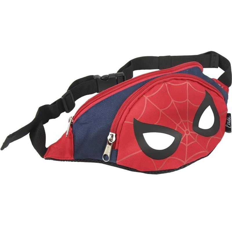 Marvel Spiderman wandel heuptas rood/blauw 33 cm