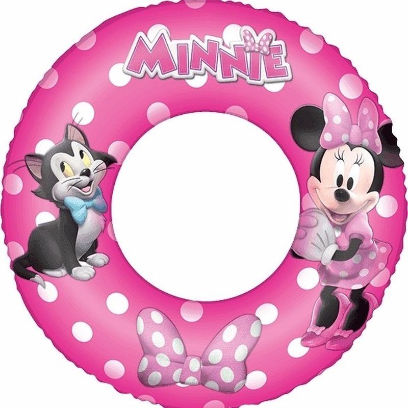 Minnie Mouse roze zwembanden 56 cm