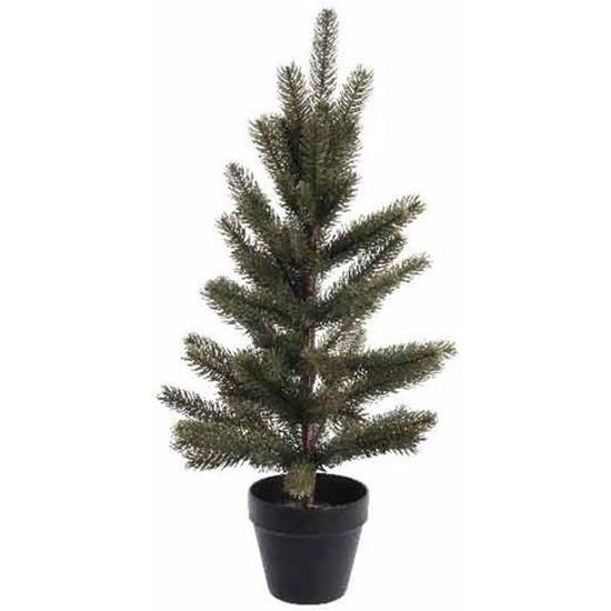 Namaak kerstboom met pot 60 cm