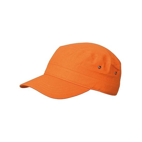 Oranje leger petje