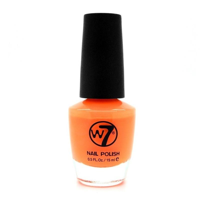 Oranje nagellak mat W7 15 ml