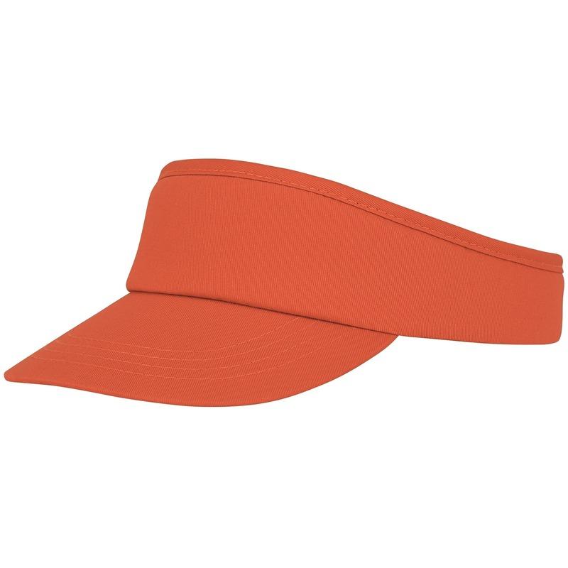 Oranje zonneklep pet voor volwassenen