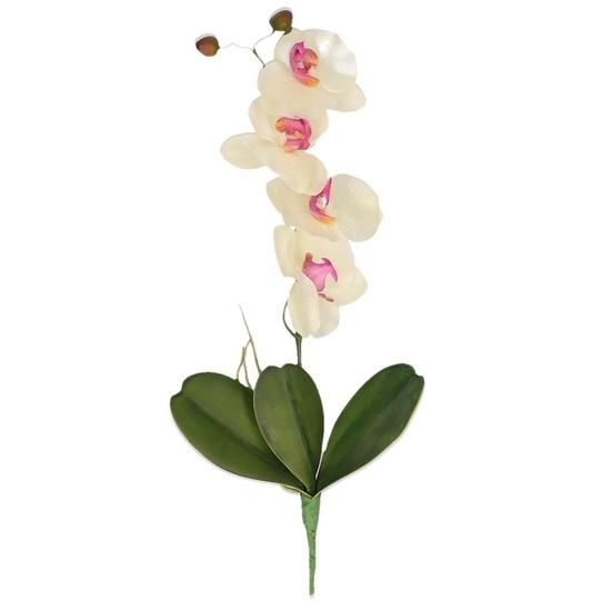 Orchidee decoratie tak kunstbloemen