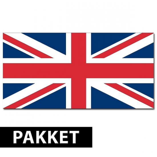 Pakket Engeland feestartikelen