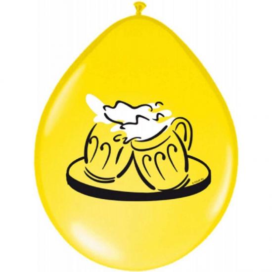 Party ballonnen Bier 8 st