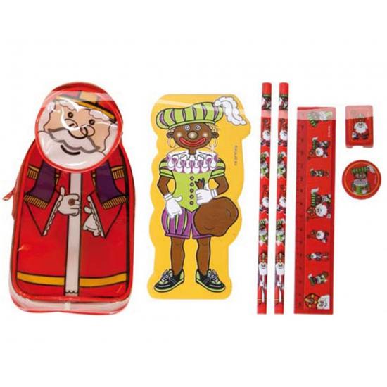 Pennen etui van Sinterklaas
