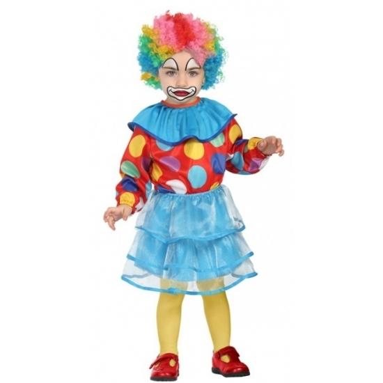 Peuter meisjes clown kostuums