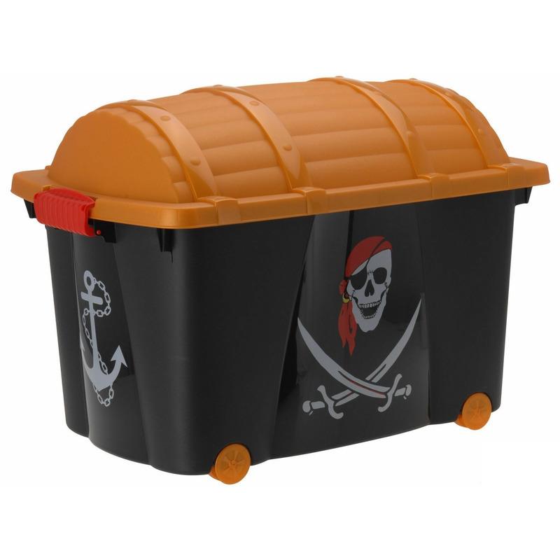 Piraten opbergkist 60x40x42 cm