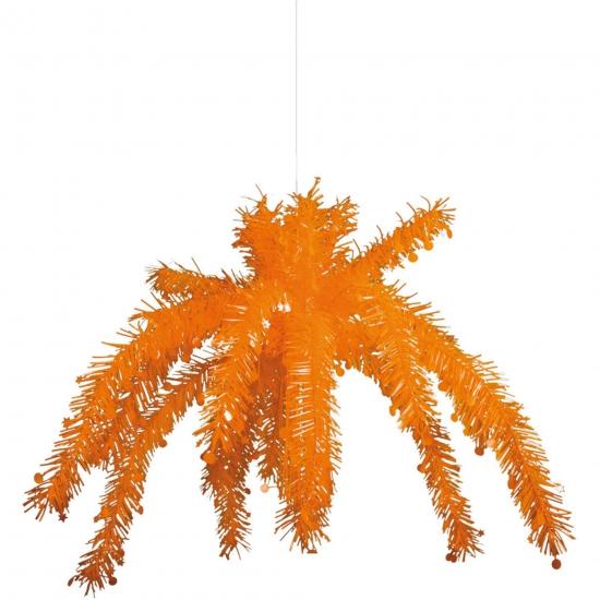 Plafond decoratie hangers oranje