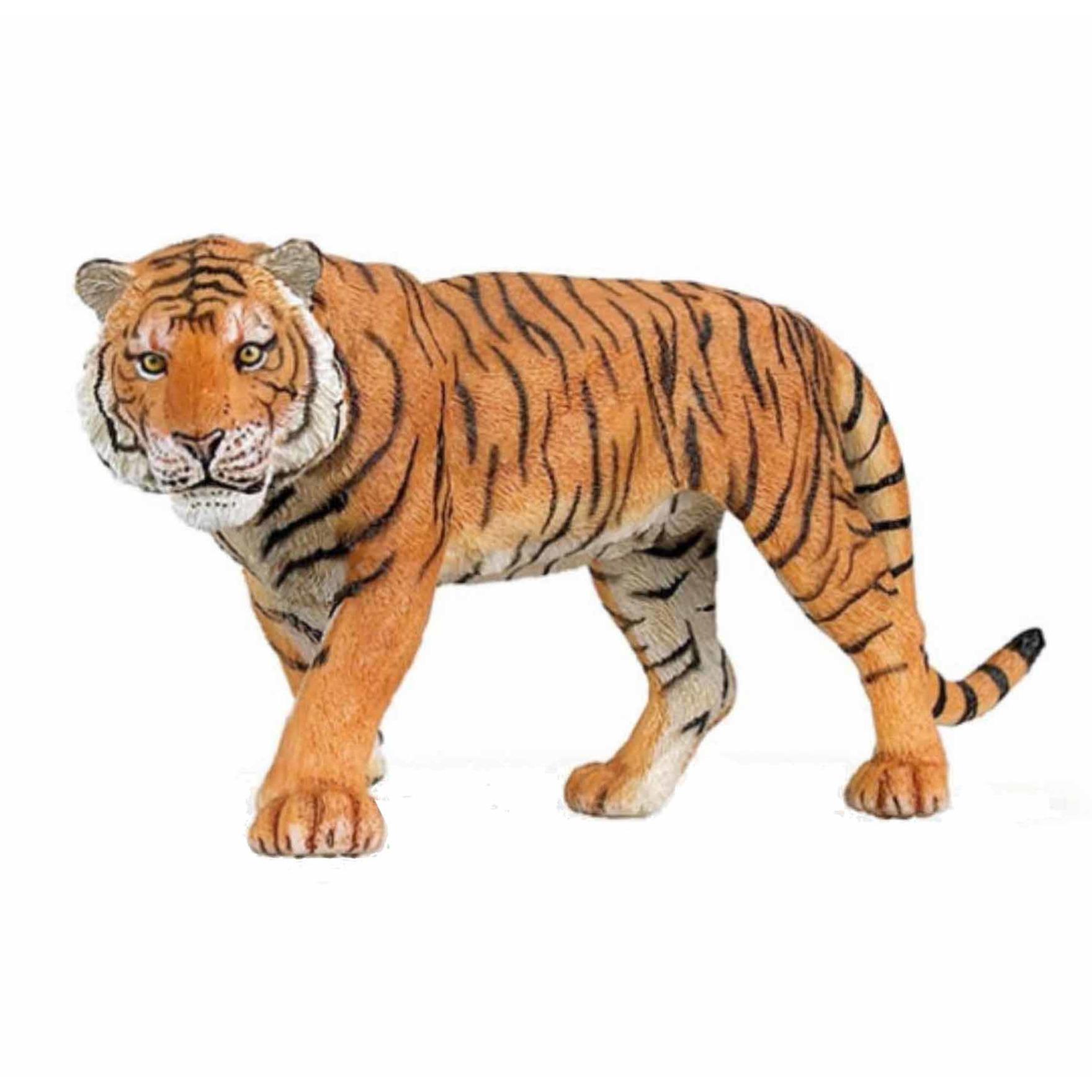 Plastic speelgoed figuur tijger 15 cm