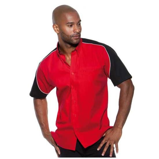 Rood race overhemd voor mannen