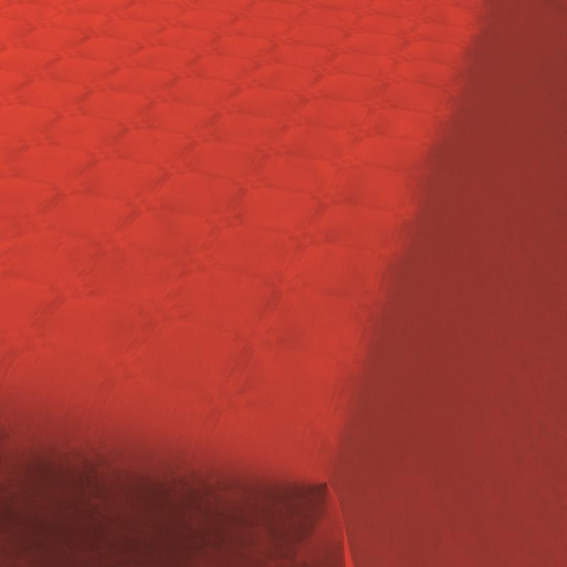 Rood tafelpapier op rol 800x118cm