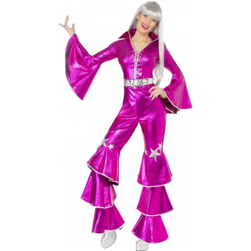Roze jaren 70 kleding voor dames