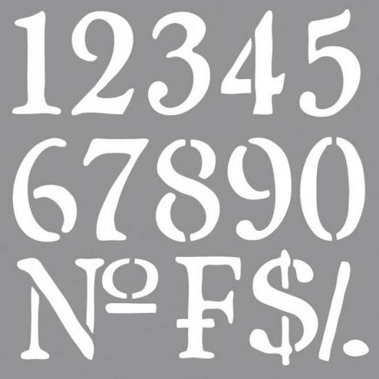 Sierlijke cijfers tekenen