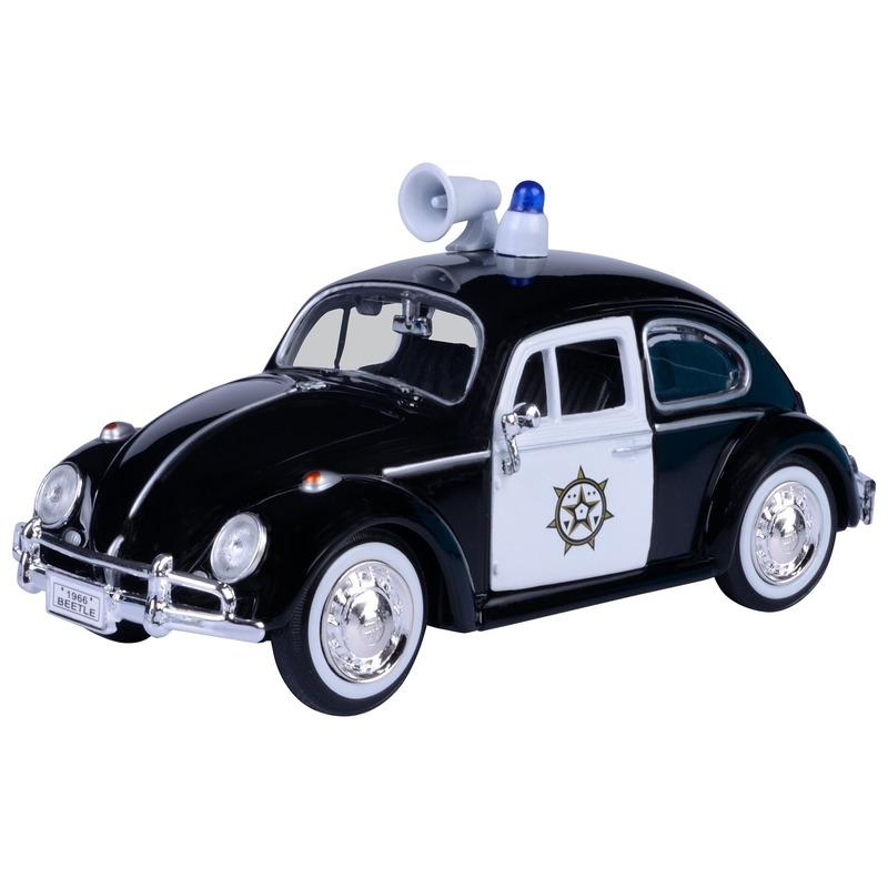 Speelgoed auto Volkswagen Kever politie 1:24