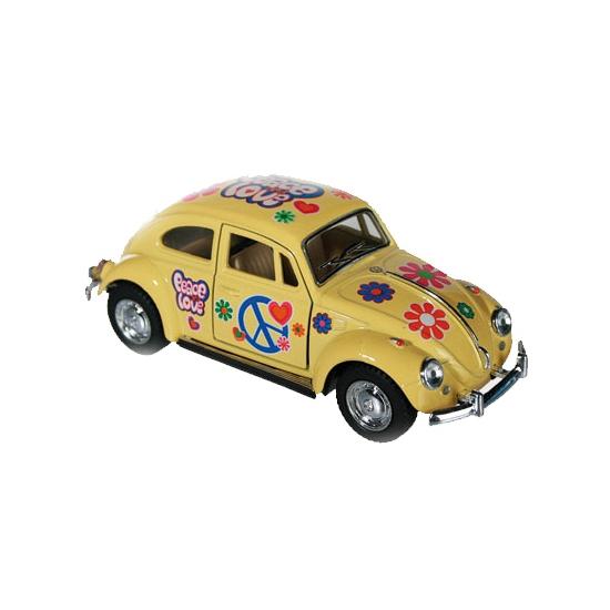 Speelgoed auto VW kever geel