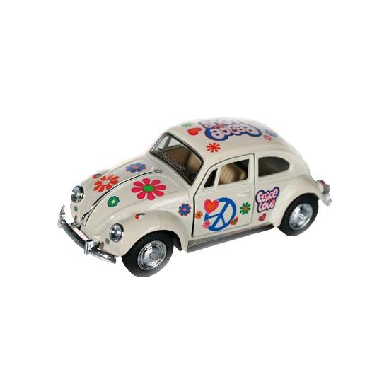 Speelgoed auto VW kever wit