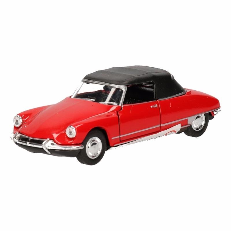 Speelgoed rode Citro?n DS19 auto 1:36