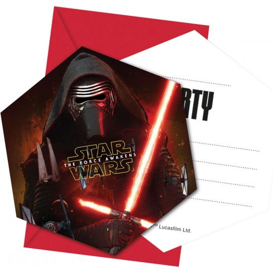 Star Wars uitnodigingskaarten