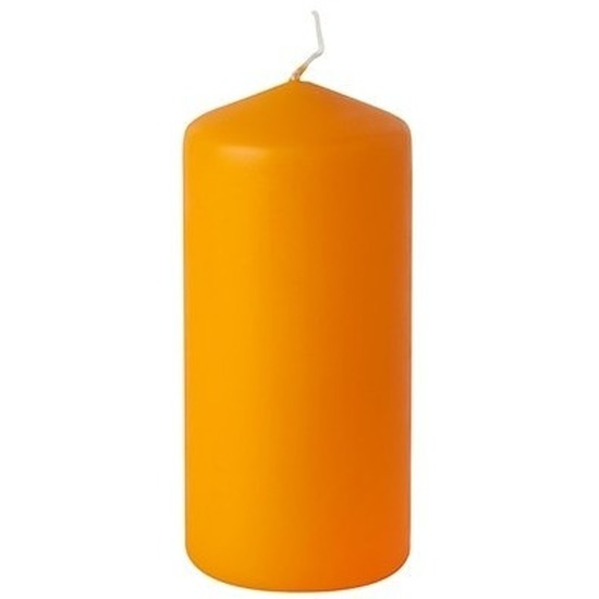 Stompkaars oranje 15 cm