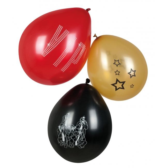 Thema VIP ballonnen 6 stuks