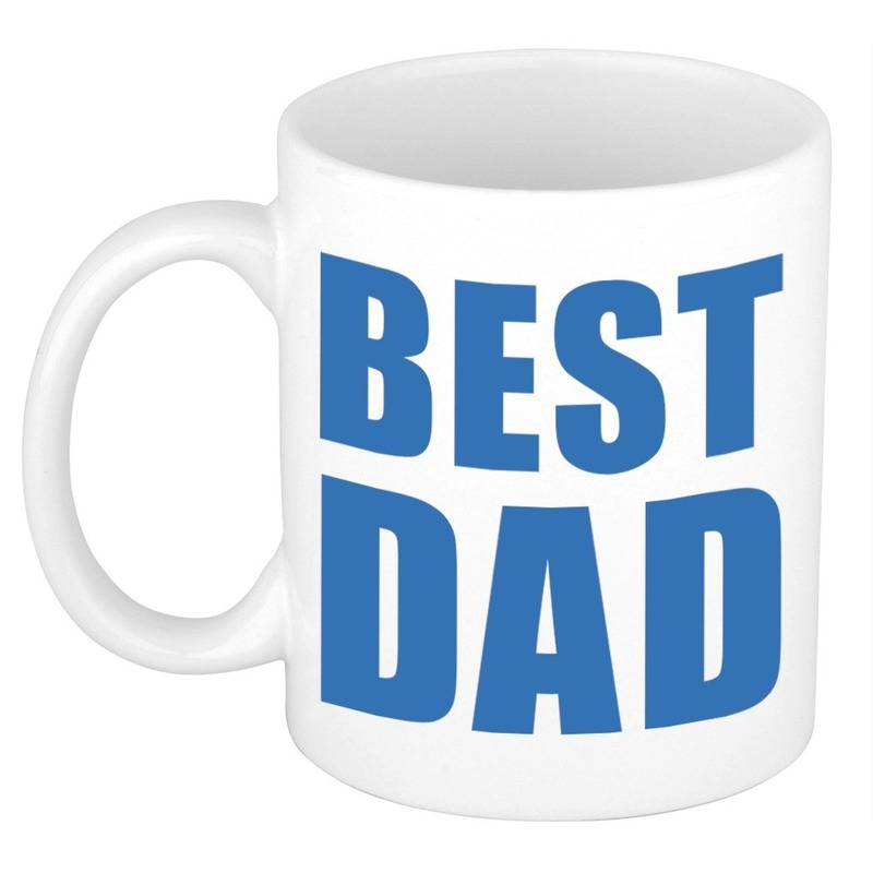 Vaderdag mok / beker Best Dad 300 ml