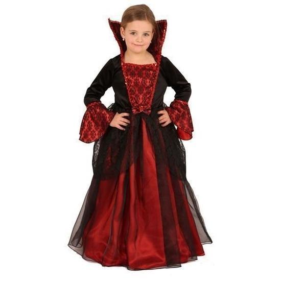 Vampieren jurk voor kinderen