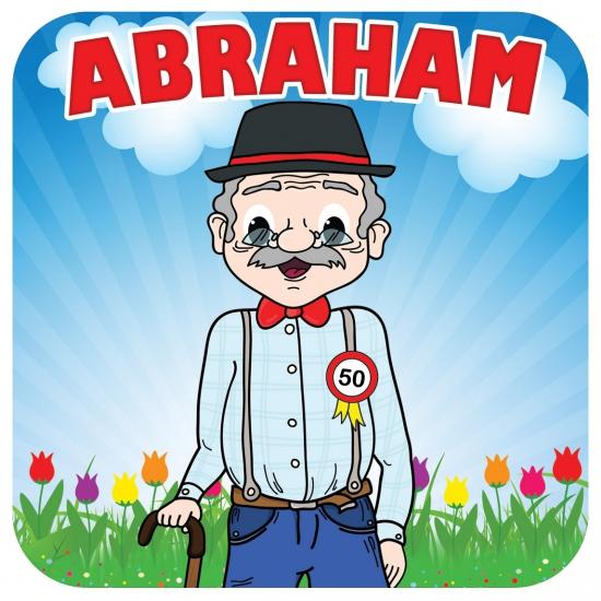 Viltjes met Abraham opdruk