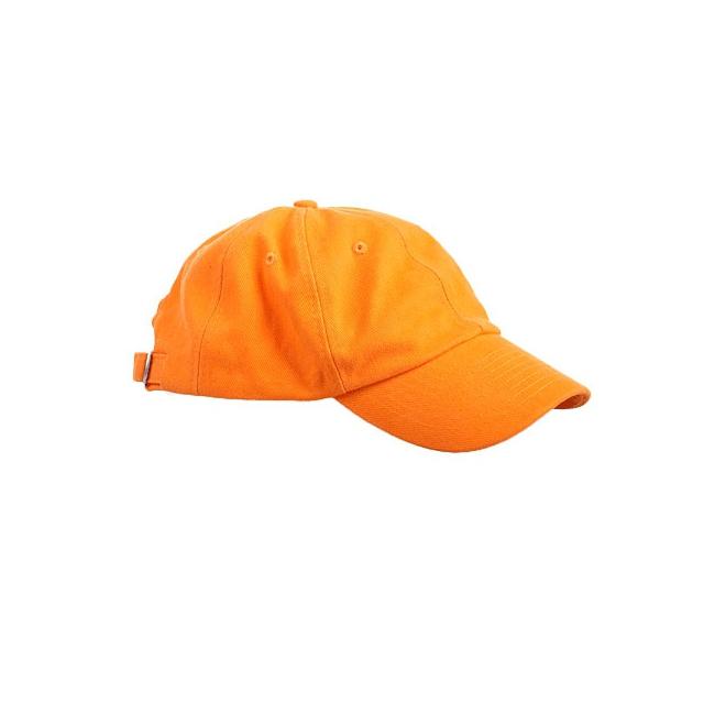 Voordelige oranje petjes