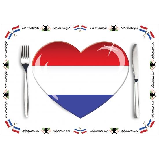 Voordelige papieren Holland placemats