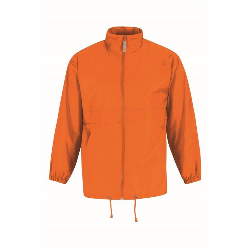 Windbreakers heren/mannen oranje