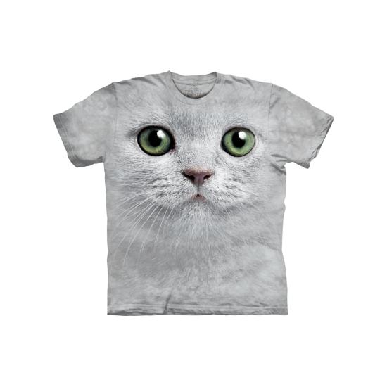 Wit katten shirt The Mountain