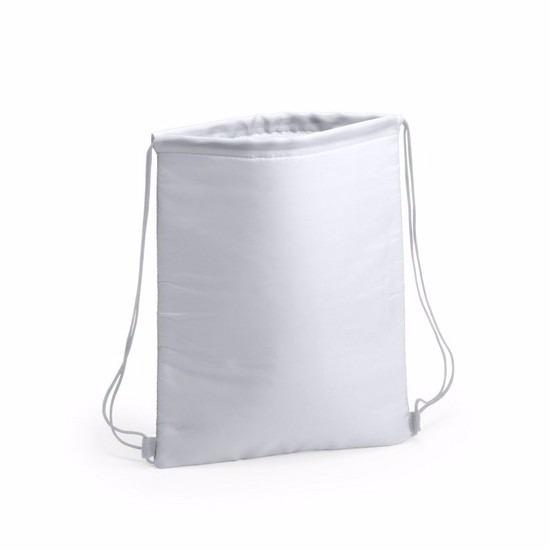 Witte koeltas rugzak 32 x 42 cm