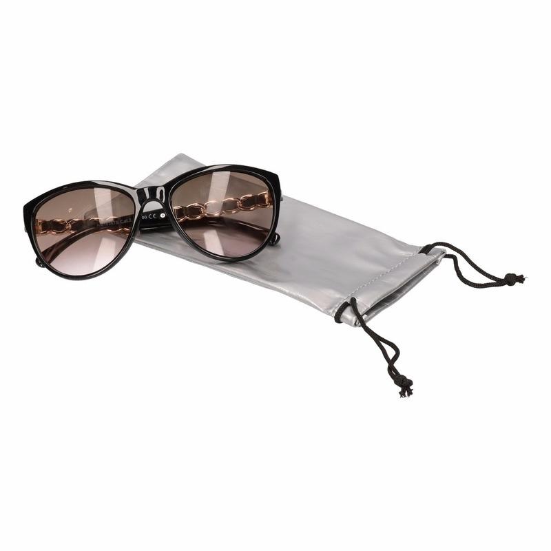 Zonnebrillen bescherm etui zilver