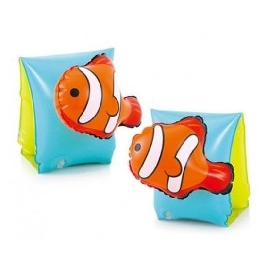 Zwembandjes-zwemvleugels met 3D vissen print