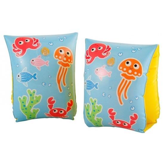 Zwembandjes-zwemvleugels met vissen print 3-6 jaar